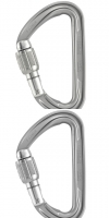 Mosqueton Petzl Spirit Screw-lock
