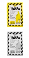 Poncho impermeable emergencias